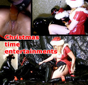 What will happen if Mistress Maria will invite The Rubberbitch and The Foxy Slave, and order them to...
