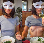 What if, on your very first date with a beautiful girl, she confessed that she loves to be dominated and made to do nasty, perverted things... What would you do? Would you piss in her wine glass and make her drink it? Would you cover her food in sperm and urine and marvel as she eats it all, and actually thanks you at the end? Let us know in the comments what you would have done in Bruce