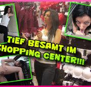Mitten im Shopping-Center öffentlich tief reingespritzt!!!