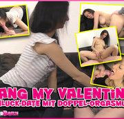 Bang my Valentine! Schluck-Date mit Doppel-Orgasmus...