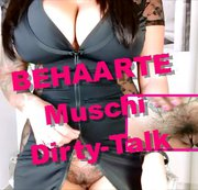 Behaarte Muschi Dirty-Talk