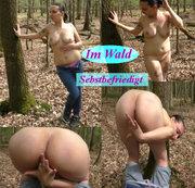 Im Wald Selbstbefriedigt