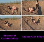Steinbruch Sklave