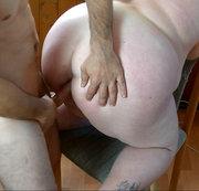 Von Hinten auf auf einem Stuhl Gefickt 2