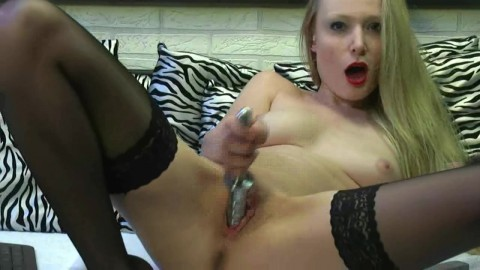 Today She Is Making A Metal Dildo Taxi69 1