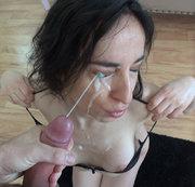 Extrem Spermafresse f�r Priscilla die alte Milfschlampe
