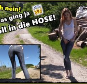 OMG! Unterwegs in die Jeans gepisst!