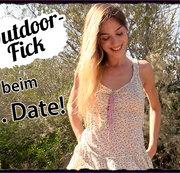 Outdoor Fick beim ersten Date!