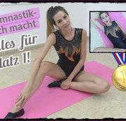 Skrupellose Gymnastik-Bitch gibt alles für Platz 1!
