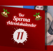 TÜR 11 – SPERMA ADVENTSKALENDER!