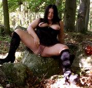 Halloween Hexe und ihre Latwerge