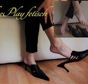 Dangling mit Pumps - Shoeplay Fetisch (ohne ton)