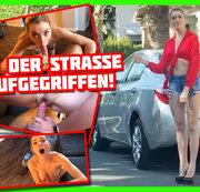 Mitgefahren! Mitgefickt! Straßenschlampe aufgegriffen! | Anny Aurora
