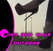 Outdoor High Heels Walking