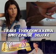 Die Trans Thekenwixxerin - Spritzpause