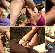 Défonce totale et brutale à la plage avec Nicky Wayne