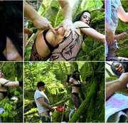 Extrem Sex in the woods with my personal little whore part 1