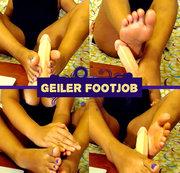 Geiler Footjob!! (Ohne Ton)