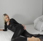 LATEX - CATSUIT - ANALE WIXXVORLAGE .