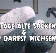 7 Tage alte Socken