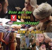 User auf der Venus abgeschleppt! FFM in Public!!