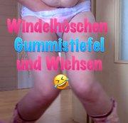 Windelhoeschen Gummistiefel und Wichsen