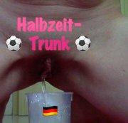 Halbzeit-Trunk