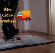 Den LKW crashen