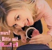 Kaffee mit Sahne..... ;-)!