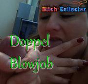 Zwei Schl**** für Doppel Blowjob eingeladen