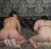 2 girls pillow humping and cumming together!