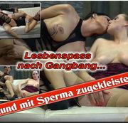 Lesbenspass...mit Sperma zugekleistert