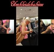 In der umkleidekabine im Einkaufscenter