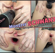 Monster SCHWANZ-Ihr heftigster Analorgasmus ever!!