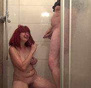 Minutenlange doppel NS Dusche