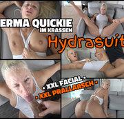 Sperma QUICKIE im krassen HYDRASUIT - SOO bringe ich jeden zum abspritzen