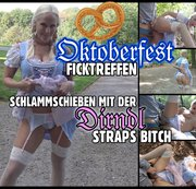 Aufgestrapste Dirndl Schlampe | Sperma Fick nach dem Oktoberfest