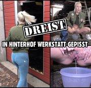 DREIST GEPISST | Mitten in eine fremde Hinterhof Werkstatt