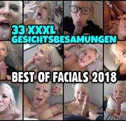 BEST OF FACIALS 2018 | 33 XXXL GESICHTSBESAMUNGEN