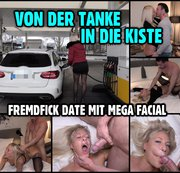 Von der Tanke in die Kiste | FREMDFICK DATE mit mega Facial