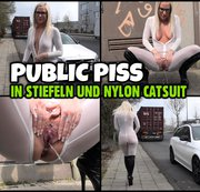HOT or NOT? | PISS in Stiefeln und Catsuit