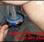 Selfie Clip - Orgasmus unter der Dusche