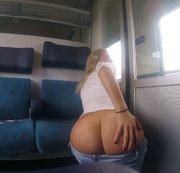 Ich KOMME nach Berlin! mega Public im Zug!