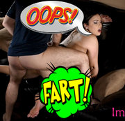 OOPS! FARTING WHILE GETTING FUCKED