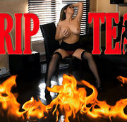 BURNING STRIPTEASE