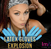 LATEX GLOVES EXPLODING