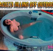 JACUZZI JILLING OFF OUTDOOR
