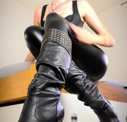 Dominanz in Stiefel