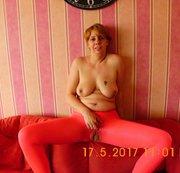 Pinke Nylon leggins