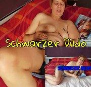 Schwarzer Dildo